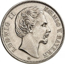 Coin > 2 mark, 1876-1883 - German Empire  - obverse