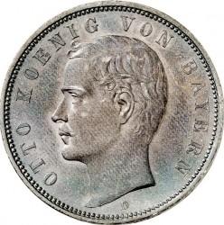 Minca > 5mark, 1891-1913 - Nemecká ríša  - obverse