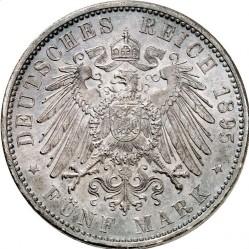 Minca > 5mark, 1891-1913 - Nemecká ríša  - reverse