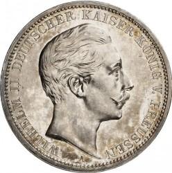 Mynt > 3mark, 1908-1912 - Det tyske keiserrike  - obverse