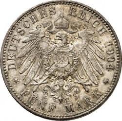 5 Mark 1891 1908 Deutsches Kaiserreich Münzen Wert Ucoinnet