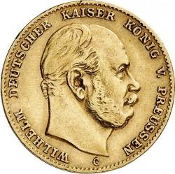Moneda > 10marcos, 1874-1888 - Alemán (Imperio)  - obverse
