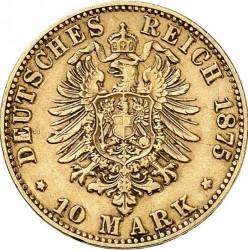 Moneda > 10marcos, 1874-1888 - Alemán (Imperio)  - reverse