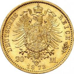 Moneda > 20marcos, 1871-1873 - Alemán (Imperio)  - reverse