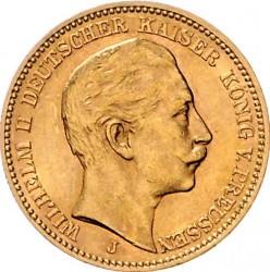 Moneda > 20marcos, 1890-1913 - Alemán (Imperio)  - obverse