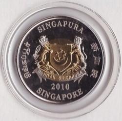 Moneta > 2dollari, 2010 - Singapore  (Giochi olimpici estivi della gioventù, Singapore 2010) - obverse