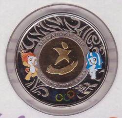 Moneta > 2dollari, 2010 - Singapore  (Giochi olimpici estivi della gioventù, Singapore 2010) - reverse
