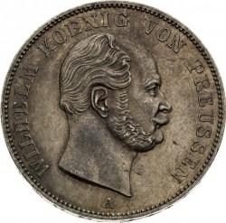 Moneda > 1vereinsthaler, 1861-1863 - Prusia  - obverse