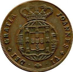 Moneda > 10réis, 1818-1824 - Portugal  - obverse