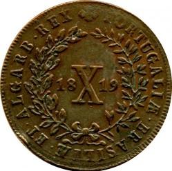 Moneda > 10réis, 1818-1824 - Portugal  - reverse