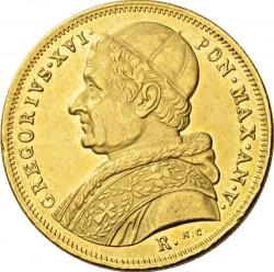 Монета > 10скудо, 1835-1845 - Папська область  - obverse