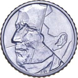 Mynt > 50francs, 1987-1993 - Belgia  (Legend in French - 'BELGIQUE') - obverse