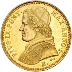 Монета > 5скудо, 1846-1854 - Папська область  - obverse