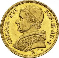 Монета > 2.5скудо, 1835-1846 - Папська область  - obverse