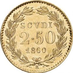 Монета > 2.5скудо, 1848-1863 - Папська область  - reverse