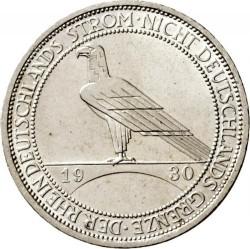 Moneda > 3reichsmark, 1930 - Alemania  (Liberación de Renania) - reverse