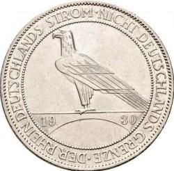 Moneda > 5reichsmark, 1930 - Alemania  (Liberación de Renania) - reverse