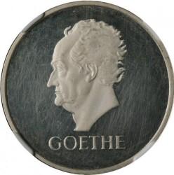 Moneda > 3reichsmark, 1932 - Alemania  (100 aniversario de la muerte de Goethe) - reverse