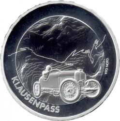 Moneta > 20franków, 2018 - Szwajcaria  (Przełęcz Klausenpass) - reverse