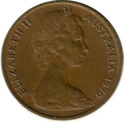 Moneda > 1centavo, 1970 - Australia  - obverse