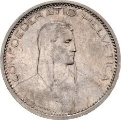 Moeda > 5francos, 1922-1923 - Suíça  - obverse