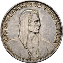 Moeda > 5francos, 1924-1928 - Suíça  - obverse