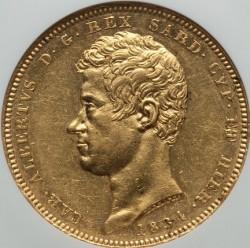 Монета > 100лири, 1832-1842 - Сардиния  - obverse