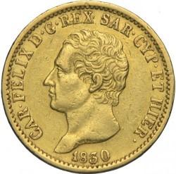 Moneta > 20lire, 1830 - Sardegna  - obverse