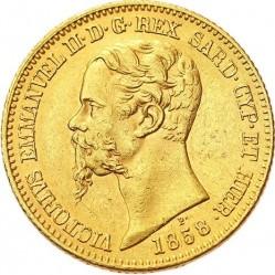 Monēta > 20liru, 1850-1861 - Sardinia  - obverse