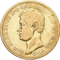Moneta > 10lire, 1833-1844 - Sardegna  - obverse