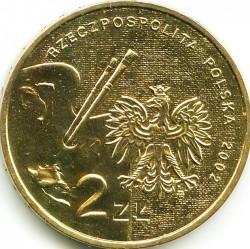 Moneta > 2zlote, 2002 - Polonia  (Pittori polacchi del XIX / XX secolo - Jan Matejko) - obverse
