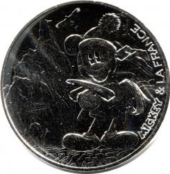 Moneda > 10euros, 2018 - Francia  (Aiguille du Midi) - reverse