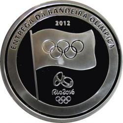 Moneta > 5reali, 2012 - Brazylia  (Igrzyska Olimpijskie:  Londyn 2012 - Brazylia 2016) - obverse