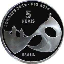 Moneta > 5reali, 2012 - Brazylia  (Igrzyska Olimpijskie:  Londyn 2012 - Brazylia 2016) - reverse