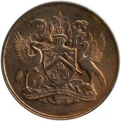 Moneta > 1centesimo, 1972 - Trinidad e Tobago  (10° anniversario dell'indipendenza) - obverse