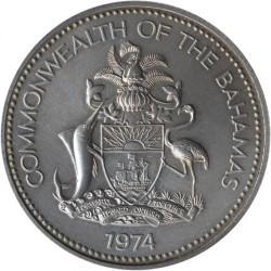 Кованица > 50центи, 1974-1996 - Бахами  - obverse
