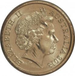Монета > 2доллара, 2018 - Австралия  (XXI Игры содружества 2018 - Эмблема) - obverse