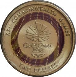 Монета > 2доллара, 2018 - Австралия  (XXI Игры содружества 2018 - Эмблема) - reverse