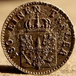 Монета > 2пфенига, 1846-1860 - Прусия  - obverse