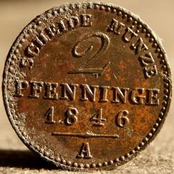 Монета > 2пфенига, 1846-1860 - Прусия  - reverse