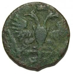 Монета > 1полушка, 1718-1722 - Русия  - obverse