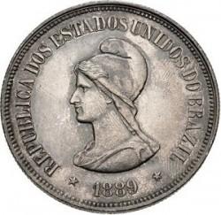 Moneda > 1000réis, 1889 - Brasil  - obverse