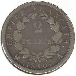 سکه > 2فرانک, 1809-1814 - فرانسه  - obverse