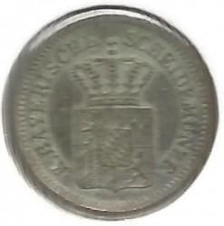 Monedă > 1сreițar, 1865-1871 - Bavaria  - reverse