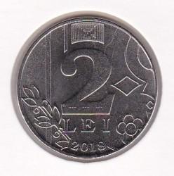 Moneda > 2lei, 2018 - Moldavia  - obverse