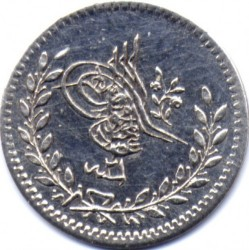 Munt > 20para, 1839 - Ottomaanse Rijk  (Silver /gray color/) - obverse
