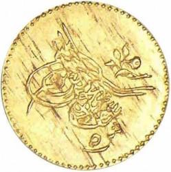 Moneda > 5qirsh, 1861 - Egipto  (Gold /yellow color/) - obverse