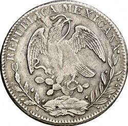 Moneda > 8reales, 1824-1897 - México  - obverse
