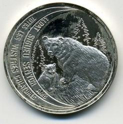 Moneda > 10diners, 1992 - Andorra  (Ós Bru) - reverse