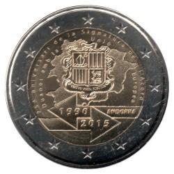 Moneda > 2euros, 2015 - Andorra  (25º Aniversario - Adhesión a la UE) - obverse